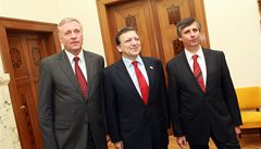 Topolánek představil Barrosovi nástupce