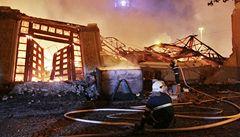 Policie odložila případ požáru Průmyslového paláce