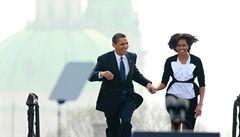 Jak vypadal Obama očima fotografů Lidových novin