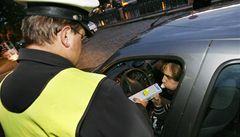 Senátoři chtějí odpustit bodový trest řidičům s 0,3 promile