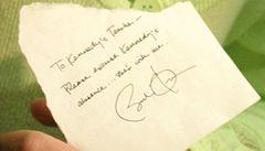 Prezident Obama napsal desetileté školačce omluvenku