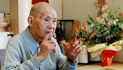 Zemřel nejstarší muž světa, bylo mu 113 let