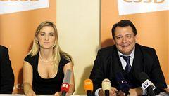 Borůvková nemá zvolení do čela ČSSD jisté, rozhodne hlasování