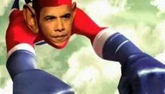 Superhrdina Barack Obama zachraňuje svět