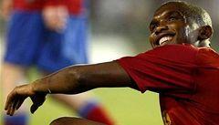 Kamerunec Eto´o se zřejmě stane nejlépe placeným fotbalistou
