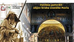 Záhada ostatků apoštola Pavla vyřešena. Jsou pravé, řekl papež