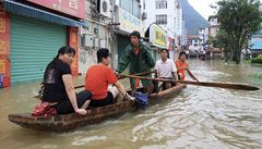 V jižní Číně evakuováno před záplavami přes 150.000 lidí