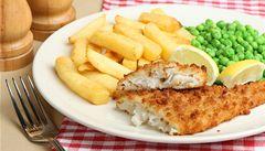 Britské fish and chips dobývají nejlepší restaurace