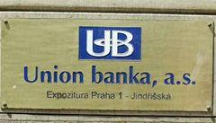 ČR vyhrála arbitráž ohledně Union Banky za 7 miliard Kč