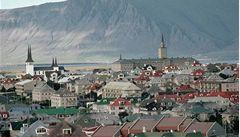 Reykjavík očima Jana Buriana