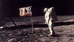Před 40 lety dobyl Neil Armstrong Měsíc