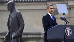 Obama zmínil Masaryka a vyzval Írán k odzbrojení