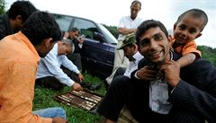 Část rumunských Romů se přestěhovala do Husince