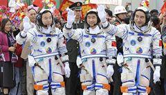 Čína hledá kosmonauta. Podmínka: nesmí zapáchat