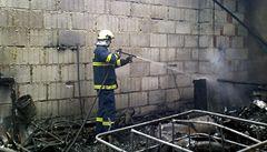 Při požáru domu na Domažlicku zemřel člověk