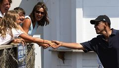 Obamovi tráví dovolenou na ostrově, kde se točily Čelisti