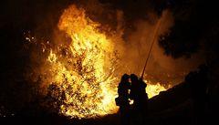 Aljaška v plamenech. Požár pálí lesy, lidé prchají