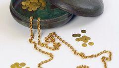 Košický zlatý poklad je v Praze. V Národním muzeu zůstane do ledna