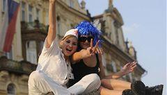 Karnevalový průvod squaterů bez konfliktu prošel Prahou