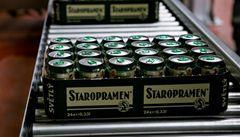 Staropramen kopíruje Prazdroj. Zdraží pivo o korunu