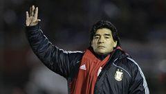 Sex hráčům nezakážu, je součástí života, říká Maradona k MS