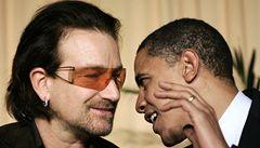 Bono obhajoval udělení Nobelovy ceny Obamovi