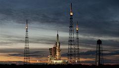 Premiérový start rakety Ares zmařilo počasí