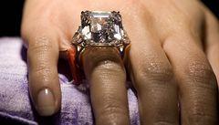 Pohádkový diamant vydražili v New Yorku za 139 milionů