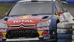 Václav Pech získal skalp mistra světa v rallye Loeba