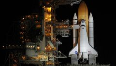 Raketoplán Atlantis připraven ke startu. Vzlétne na 70 %