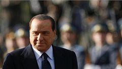 Berlusconi přespává v sídle vlády, možná se bojí teroristů
