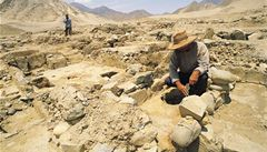 Zánik nejstarší americké civilizace způsobily klimatické změny
