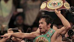 Fenomenální Pacquiao má profesionální titul už v sedmé váze