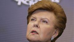 Lotyšská železná lady útočí: chce být prezidentkou EU