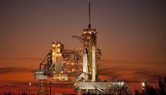 Raketoplán Atlantis bez potíží odstartoval k ISS