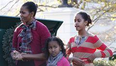 Obamová si zahraje v oblíbeném seriálů dcer