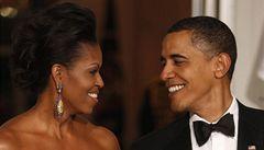 Manžel nekouří už téměř rok, pochlubila se pyšná Obamová novinářům