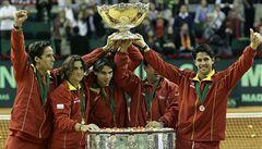 Španělé oslavují 'Nejlepší tým na světě', který nezastavil ani Štěpánek