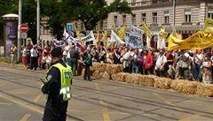 WEISS: Blokáda není stávka