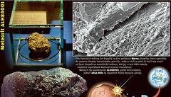 Na Marsu byl život, prozradil meteorit z Antarktidy