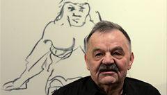 Zemřel mistr 'nejzazší tělesnosti' Alfred Hrdlicka