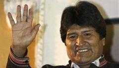 Protiamerický Evo Morales zůstává prezidentem Bolívie