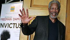 Příběh JAR se týká každého, říká Morgan Freeman alias Mandela