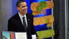 Obama převzal Nobelovu cenu. Jiní by si ji zasloužili víc, přiznal