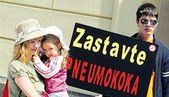 Očkování proti pneumokokům bude bezplatné a nepovinné