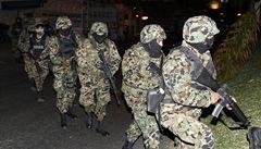 Mexická armáda zastřelila drogového šéfa a našla hlavy 6 policistů