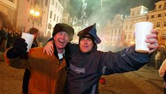 Silvestrovské oslavy byly v Praze mimořádně klidné. Záchranáři registrují o 50 výjezdů méně než loni