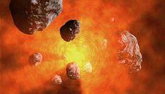 Gravitační laso na asteroidy