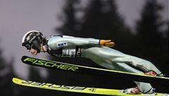 Skokan na lyžích Hájek skončil čtvrtý v Sapporu