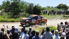 Loprais zahájil Rallye Dakar druhý, zemřela jedna divačka
